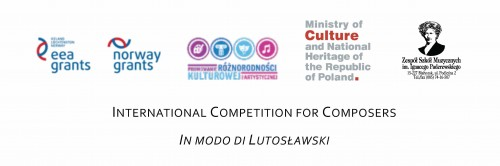 International Competition for Composers (December 2013 - April 2014)
